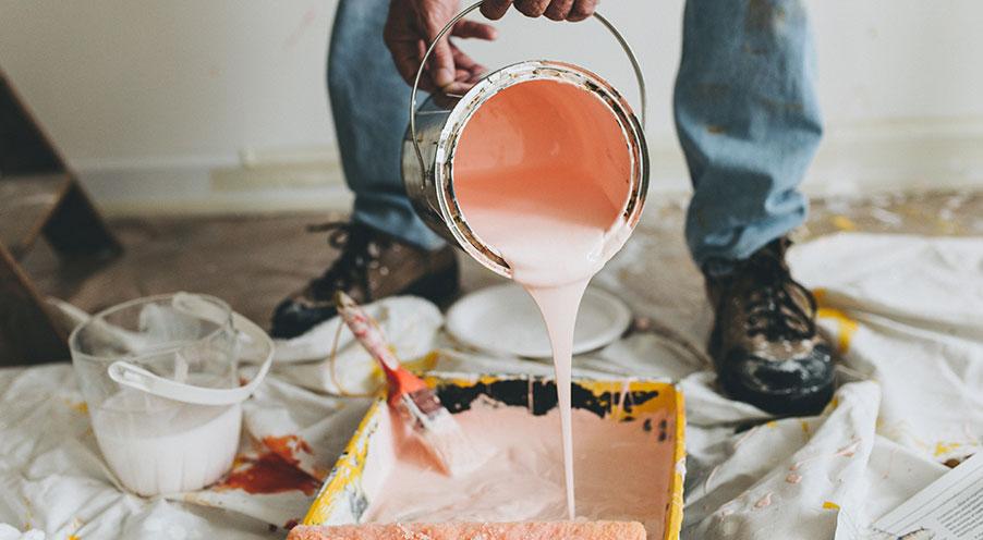 """""""Sätt färg på"""" gav arbetslösa målare nya jobb"""